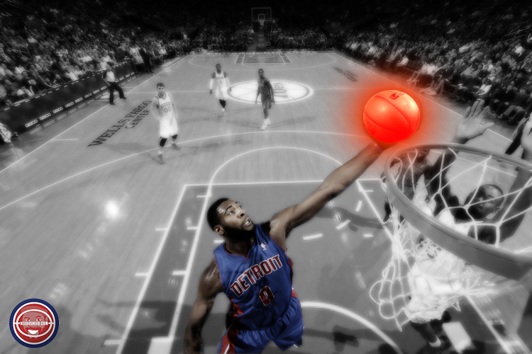 Andre Drummond Pistons vs Sixers