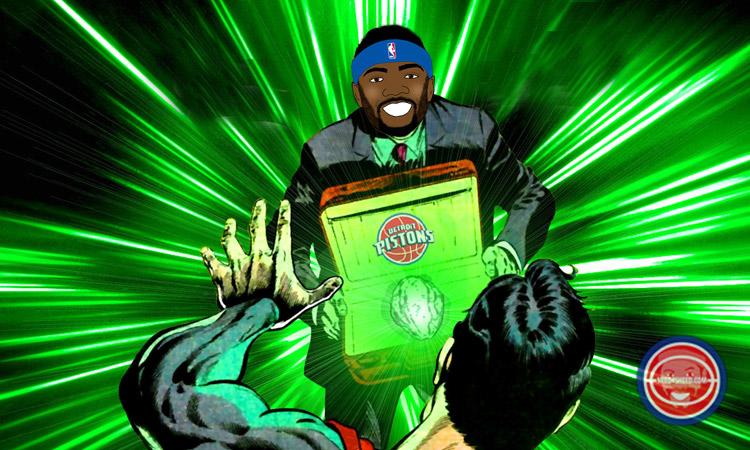 Josh Smith was the Pistons Kryptonite